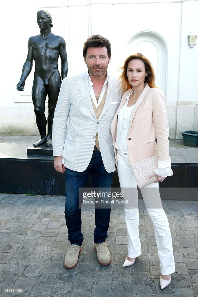 Photo d'actualité : 'L-R) Actors Philippe Lellouche and Vanessa...