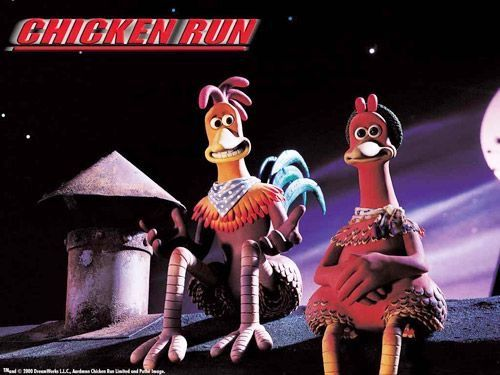camera shots chicken run rocky Continuity mistake: when rocky is pedaling the tricycle there is a radio on the back and its aerial is on the right hand side but when the shot is from the back the aerial moves to the other side of the radio and then back again on the front shots.