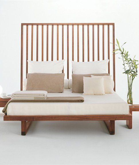 Wooden double bed with upholstered headboard NIGHT NIGHT by Riva 1920     design Terry. 17 Best ideas about Wooden Double Bed on Pinterest   Wooden double