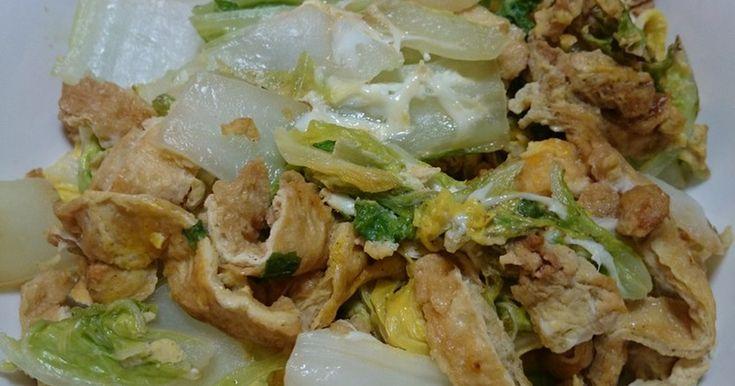 ▲うすあげ卵の白菜炒め by ★YUKI★っぺ [クックパッド] 簡単おいしいみんなのレシピが253万品