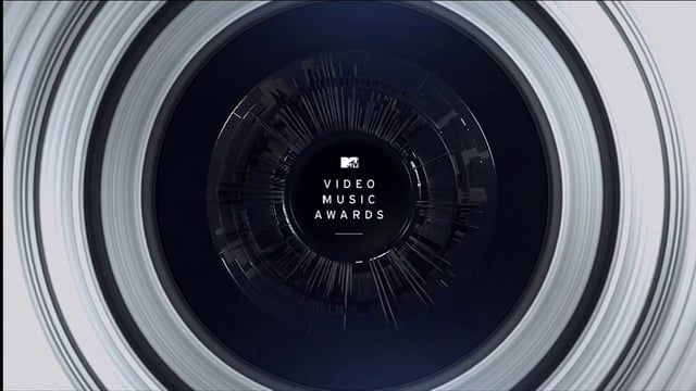 The circle - across architecture, staging, branding and broadcast design.  Antibody, powered by the formidable production resources of Elastic, directed this package of logos, animations and video content for MTV's signature event. The logo was monochrome, minimalist and geometric