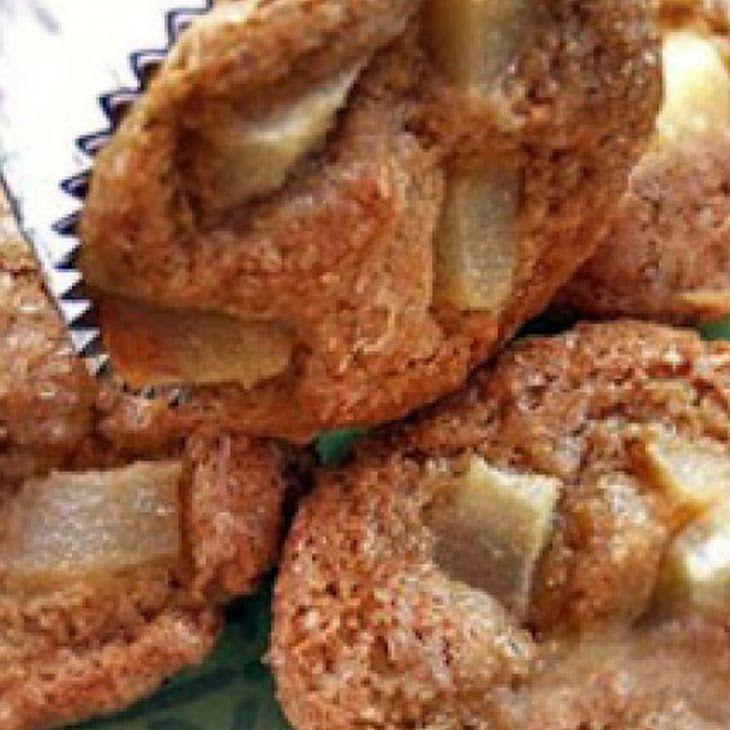 Pear Polenta Muffins | Gluten Free | Pinterest