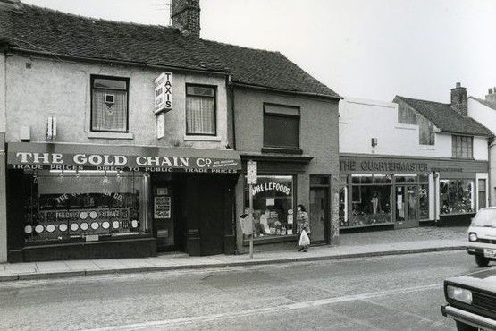 Hope Street in Hanley in 1985.