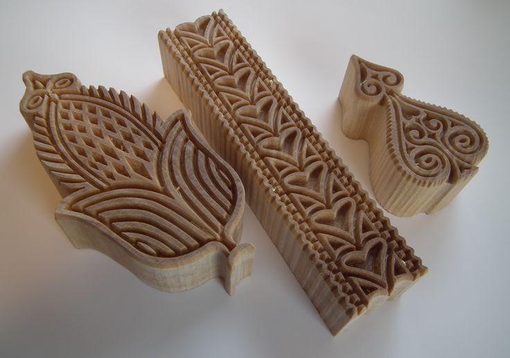 Fjellform - trykkblokker til skinnfell