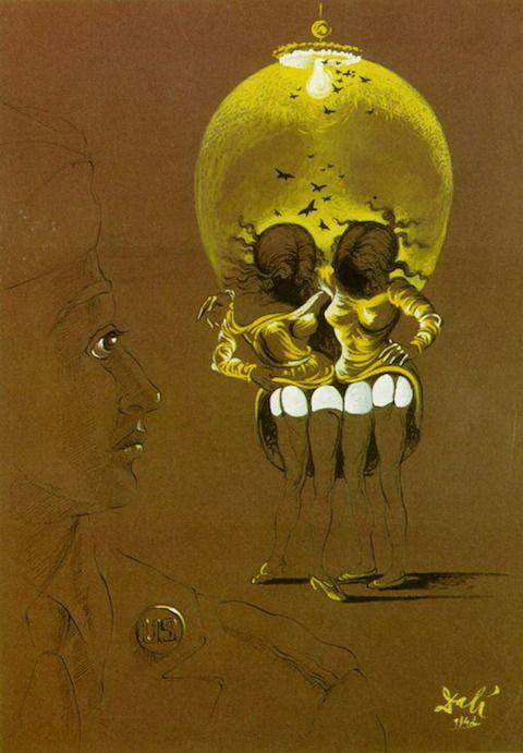 Salvador Dalí Creates a Chilling Anti-Venereal Disease Poster During World War II