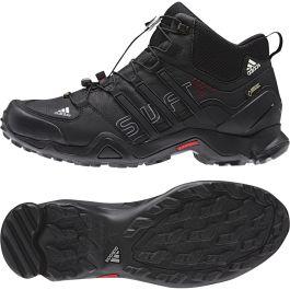 Adidas Terrex Swift R Mid GTX - Black / University Red