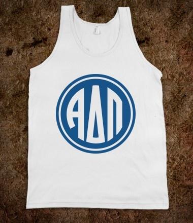 Alpha Delta Pi Frat Tanks - Alpha Delta Pi Monogram Frat Tanks CLICK HERE to purchase :)