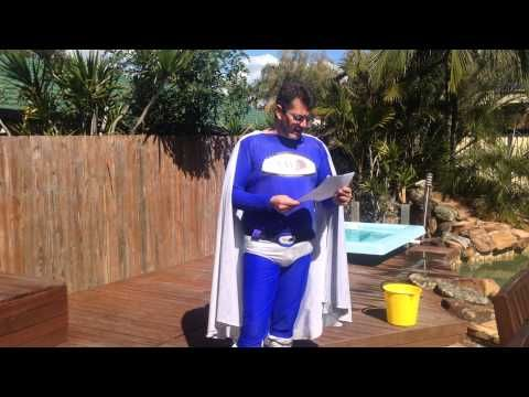 Watch Captain SOHO completing his #ALSicebucketchallenge  http://youtu.be/gBKsip8Z_pA