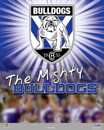 Poster of the mighty BULLDOGS