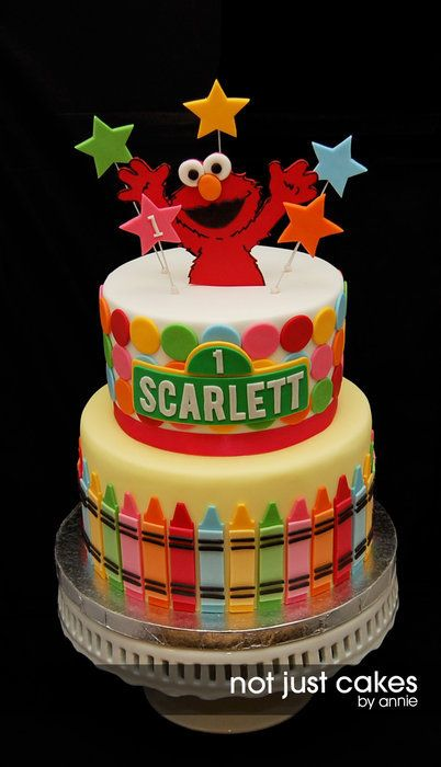 Elmo birthday Cake!!! this is what we need for Zeke's Bday cake