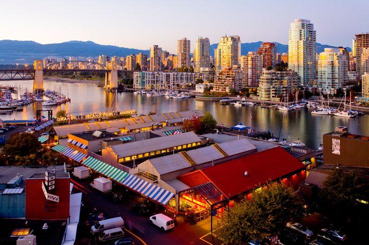 Granville Island Public Market, Vancouver