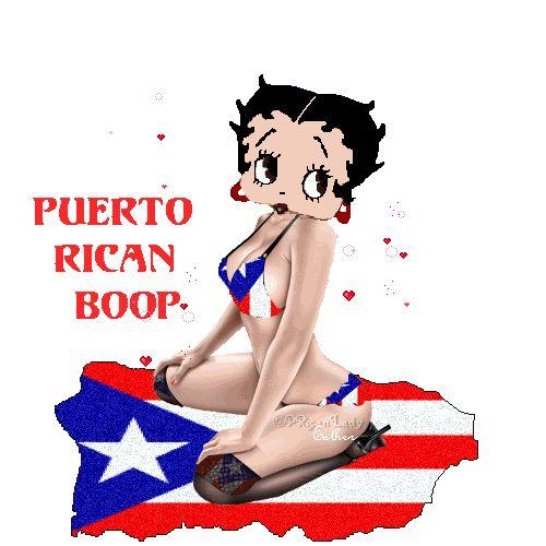 Puerto Ricans Be Like | Puerto Rican Betty Boop - puerto-rican, puerto-rican-flag