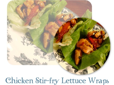 Chicken Stir Fry Lettuce Wraps | Time To Eat | Pinterest