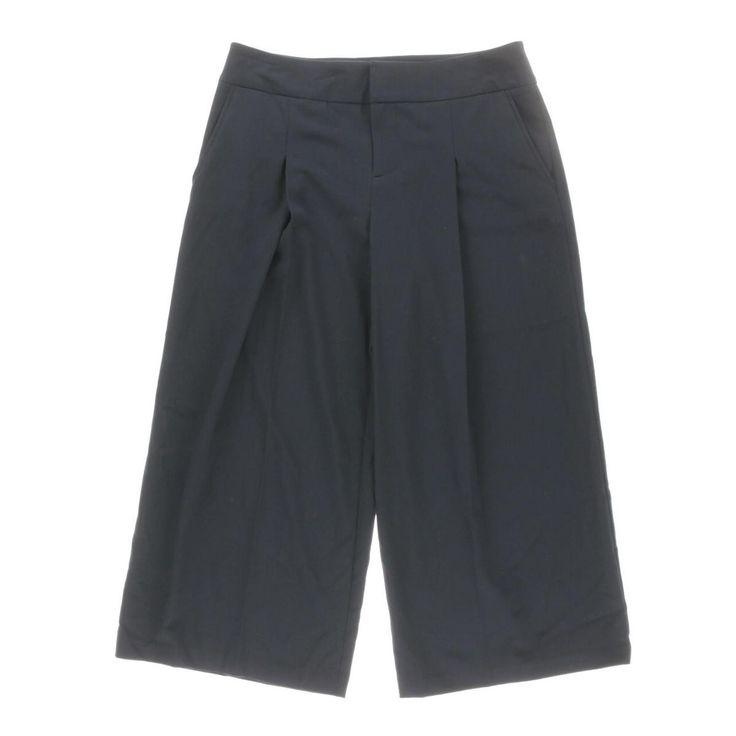 INC Womens Regular Fit Pintucked Wide Leg Pants