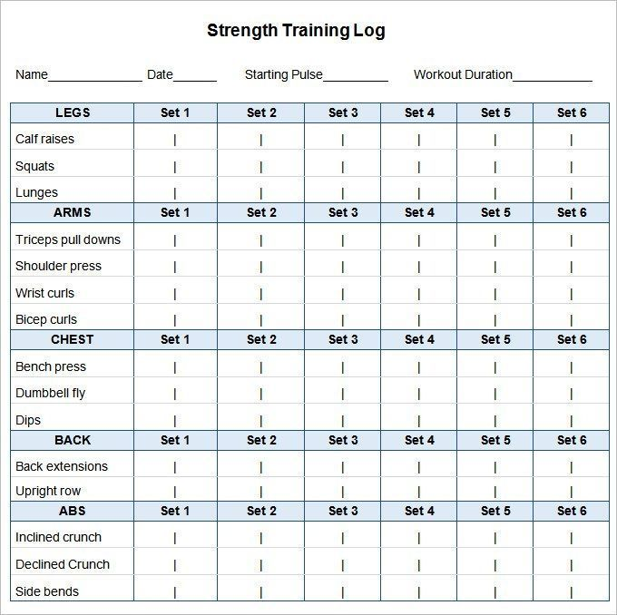 Image By Site Workout On Good Workout In 2020 Workout Template