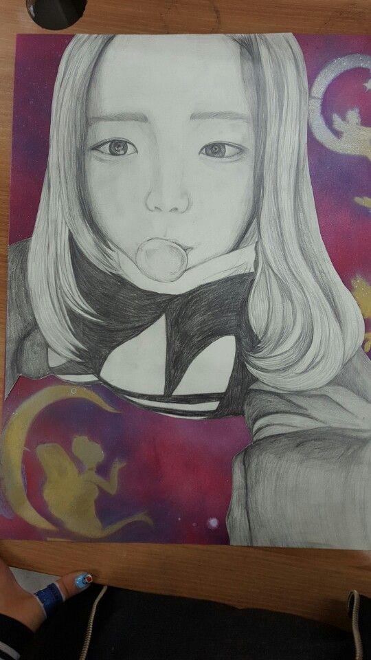 self drawing before