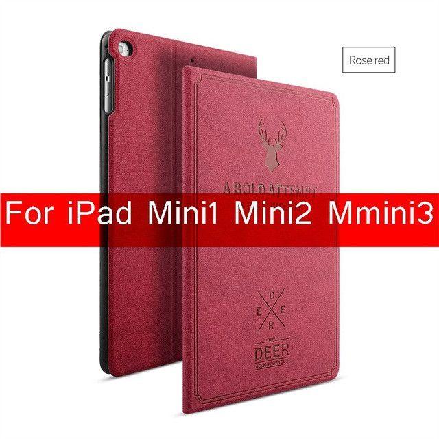 FLOVEME For Apple iPad Mini 1 2 3 4 Case Auto Sleep /Wake Up Flip PU Leather Cover For iPad Air Smart Stand Holder Folio Case
