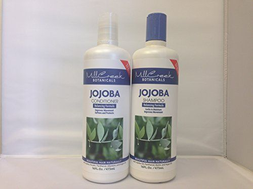 Mill Creek Botanicals Jojoba Shampoo and Conditioner Bundle -- Read more reviews of the product by visiting the link on the image.