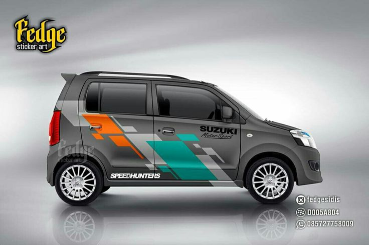 Wrap design for suzuki karimun original design by alip yuli fedge
