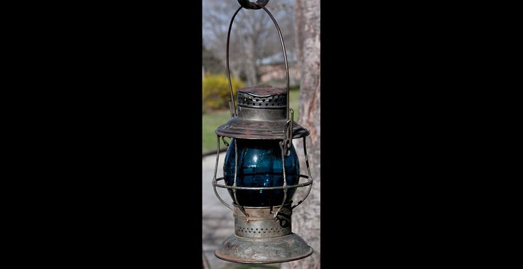 Rare railroad lantern worth 11 211 dollars vintage for Antique items worth a lot of money