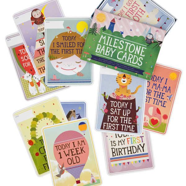 My Sweet Muffin - Milestone Baby Cards from the Netherlands