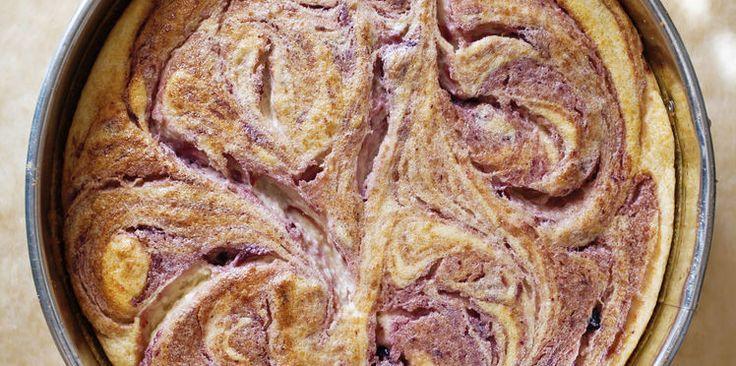 Gâteau marbré au Nutella