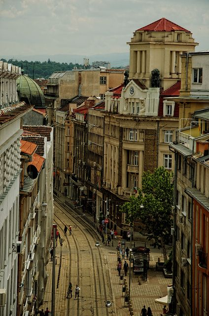 I miss this street so much..., Sofia, Bulgaria via leggeron@flickr