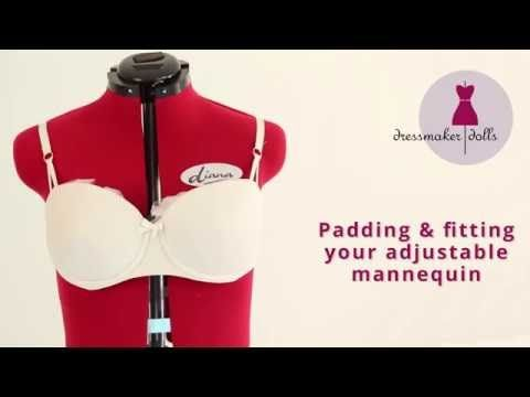 (1194) Padding and Fitting Your Adjustable Mannequin - YouTube