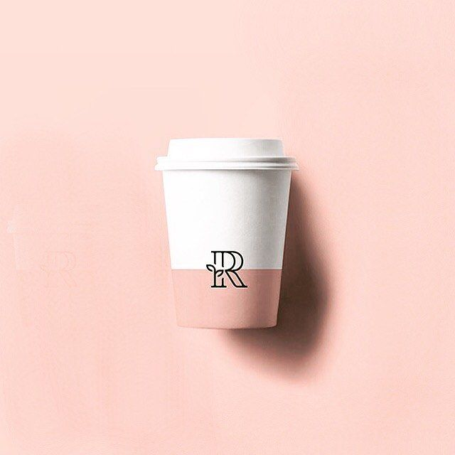Rosie's Cafe Logo Mark- #logo #coffee by instagram.com/gorilla_studio