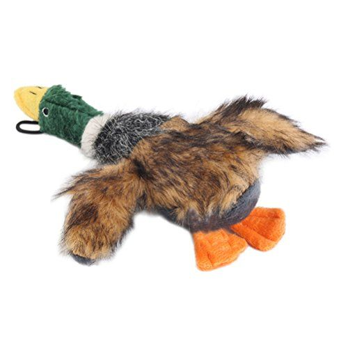 Tinksky Dog Squeaky Toy Duck Squeaky Dog Toys for Small Dogs Plush Dog Toys Brown *** You can find out more details at the link of the image. (Note:Amazon affiliate link)