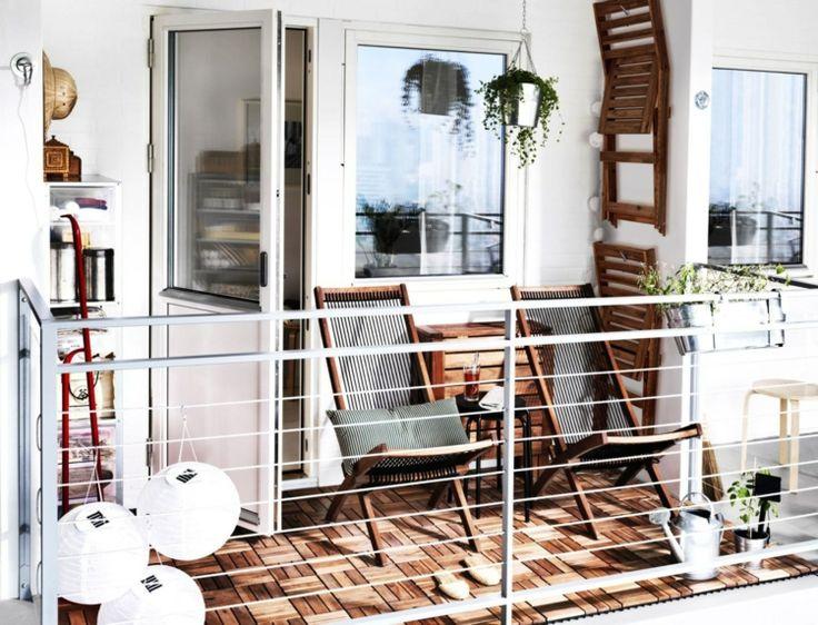Die 25+ Besten Ideen Zu Ikea Holzfliesen Auf Pinterest | Ikea ... Balkon Fliesen Holz Outdoor Ideen