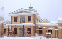Проект деревянного дома из клееного бруса БадэнХаус, площадь 376 м2, 2 этажа, 3 спальни, фото 5