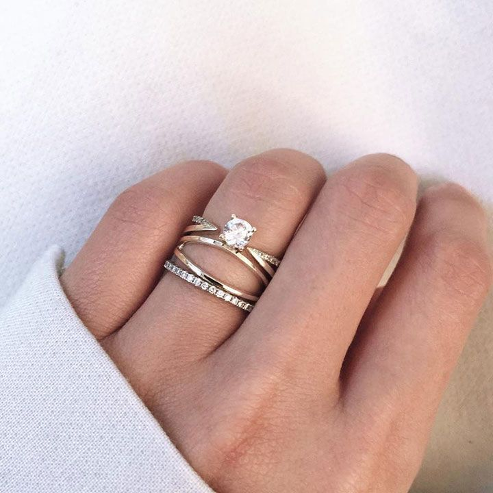 best 25 unconventional engagement rings ideas on pinterest stacked engagement ring vintage. Black Bedroom Furniture Sets. Home Design Ideas