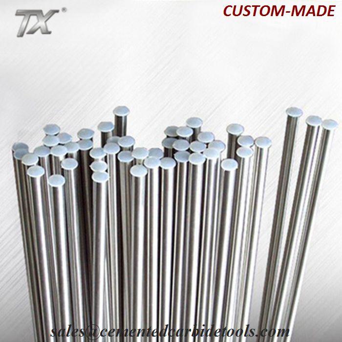 High precision top quality tungsten rod/tungsten carbide pipe