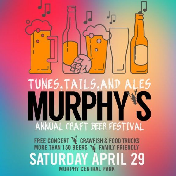 Tunes, Tails, and Ales: Murphy TX's Craft Beer Festival returns on 4/29