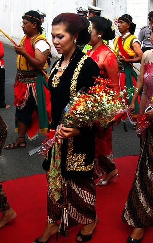 Princess of Keraton Surakarta: GKR Timoer Rumbai.One of the princesses of Surakarta, daughter of Sinuhun Hangabehi, GKR Timoer Rumbai
