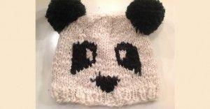 Anlatımlı Bebek Örgü Panda Bere | Kadın Köşesi