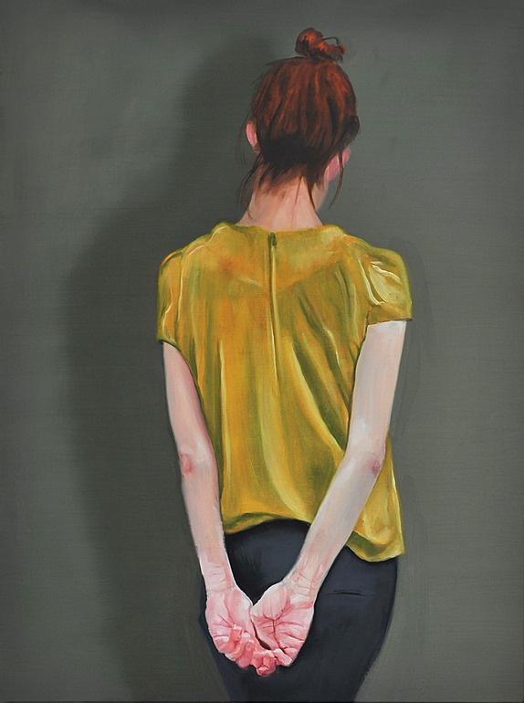 "Saatchi Online Artist: Michael Newton; Oil, 2013, Painting ""The Connoisseur"""