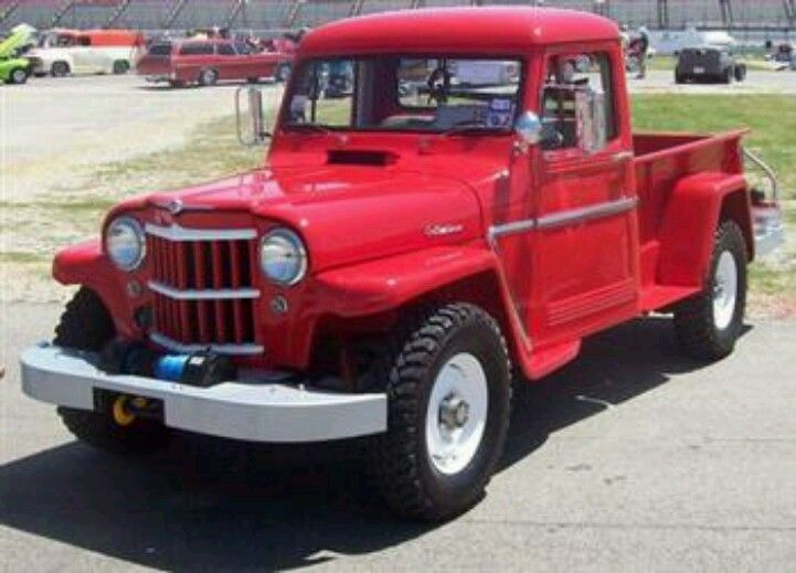 1962 Willys Jeep Pickup Truck. :)
