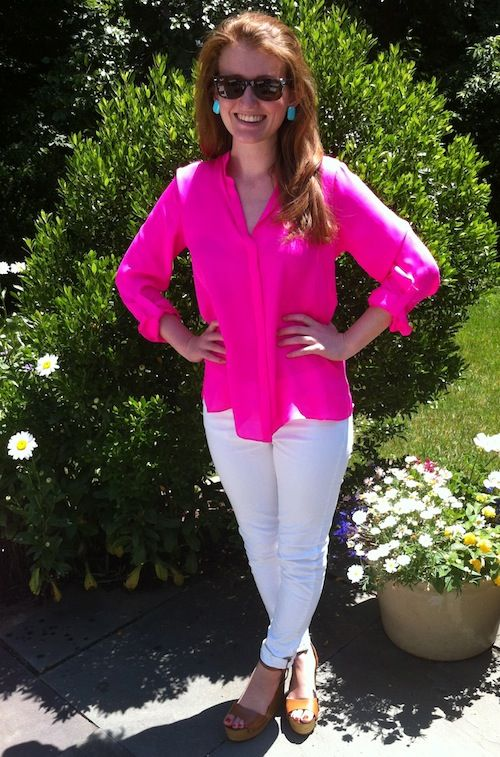 Hot hot pink (and an Alice & Trixie giveaway!).