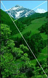 Golden Section and Rule of Thirds (Golden Mean, Golden Ratio, Golden Spiral, Golden Proportion, Golden Triangles).