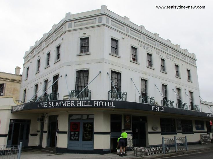 The Summer Hill Hotel in Sydney's inner west.