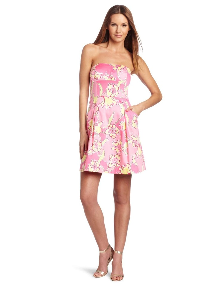 Lilly Pulitzer Women's Blossom Lilly Day Dress http://click-this-info.tk/LillyPulitzer