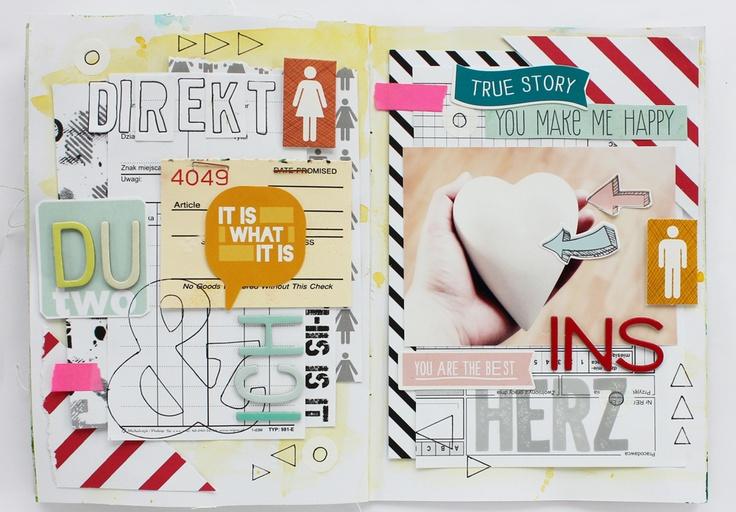Buchführung mit Detail! Paper Art!
