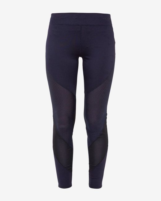 Full length mesh panel leggings - Navy | Swimwear | Ted Baker UK