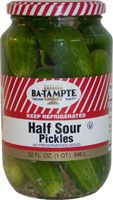 Fake New York Deli Style Half Sour Pickles - I would be very happy if I could find Ba-Tampte products.  They're the best - but this recipe will do for now.