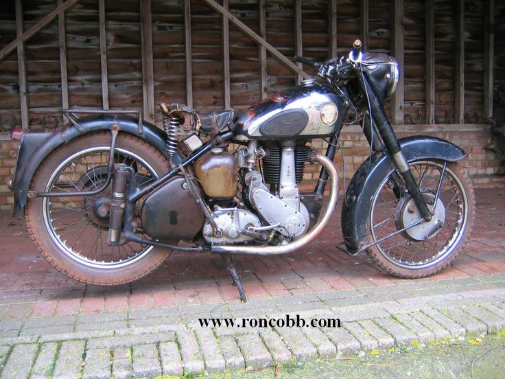 antique motorcycles for sale | 1955 BSA B33 500cc Classic motorcycle for sale.