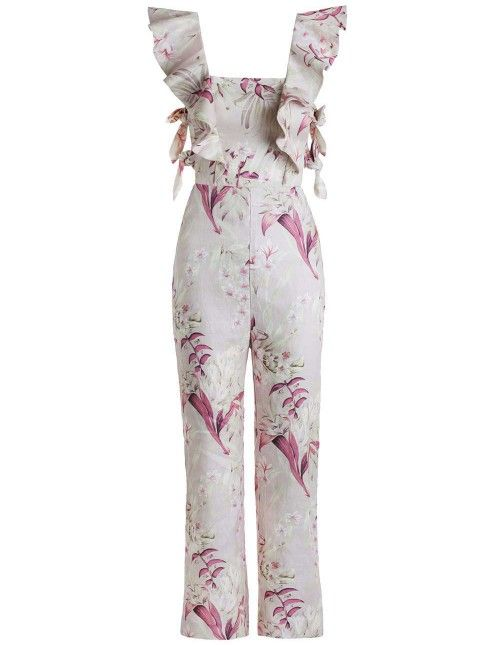 Winsome Apron Jumpsuit - Ready to Wear - New Arrivals