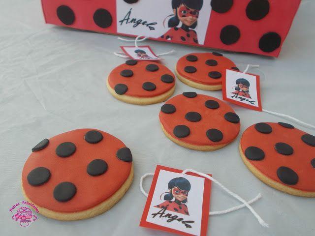 Dulces felicidades: Galletas fondant Ladybug