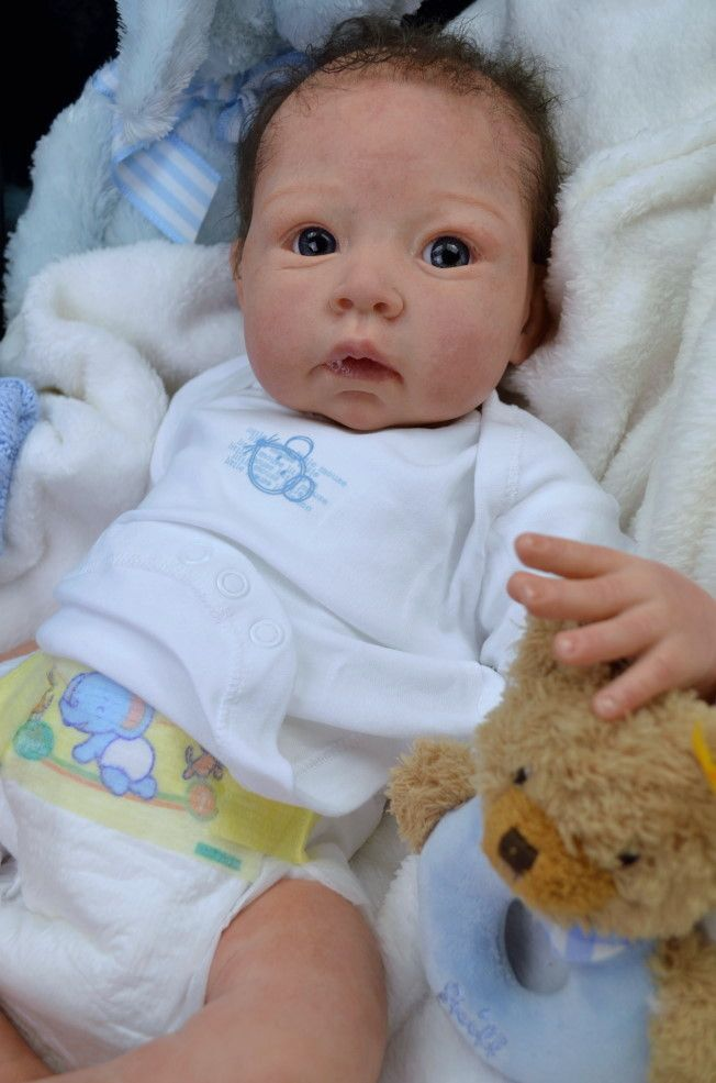 Cute Reborn Baby Doll Soft Silicone 18 Inch Handmade Baby: 17 Best Images About REBORN BABIES On Pinterest